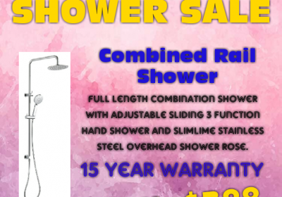 SHOWER SALE